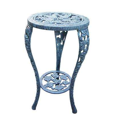 26 in. Metal Grape Table Plant Stand