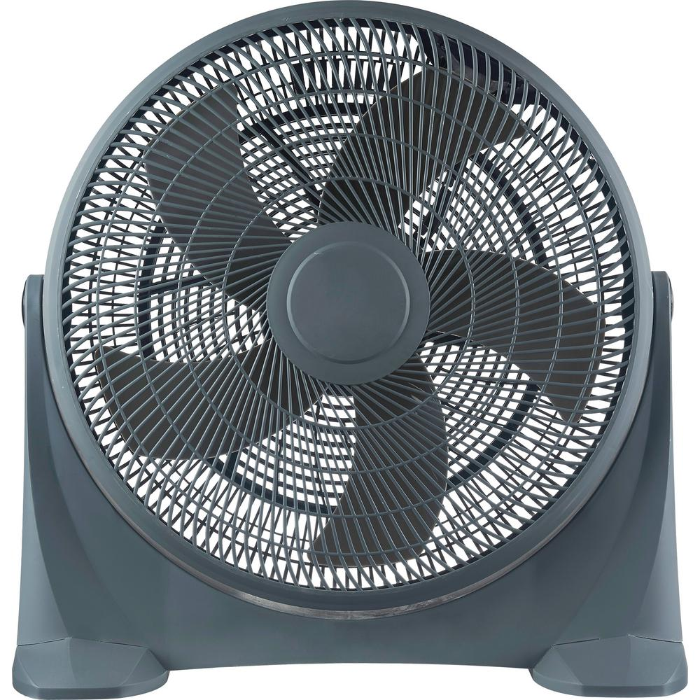 Optimus 20 in. Turbo High Performance Air Circulator Pedestal Fan