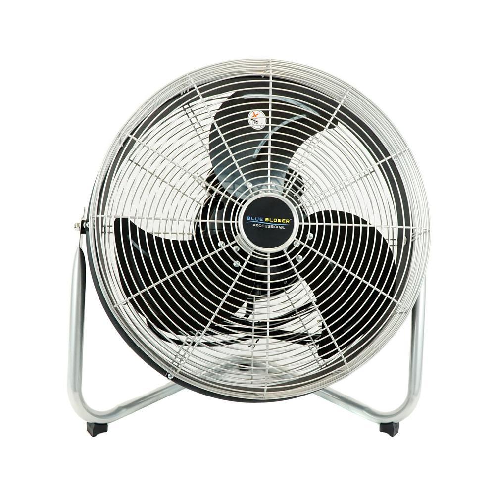 18 in. High Velocity Internal Oscillating Floor Fan