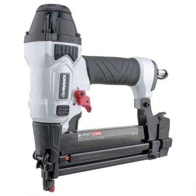 Pneumatic 2-in-1 18 Gauge 2 in. Brad Nailer and 1/4 in. Narrow Crown Stapler with Fasteners (400-Count)