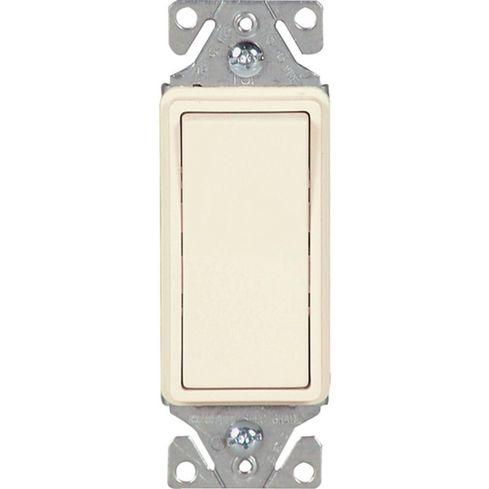 Eaton 15 Amp Decorator 3 Way Light Switch Almond C7513la Spl1 For Dummies