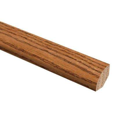 Harvest/Gunstock Oak/Oak Honey Wheat 3/4 in. Thick x 3/4 in. Wide x 94 in. Length Wood Quarter Round Molding