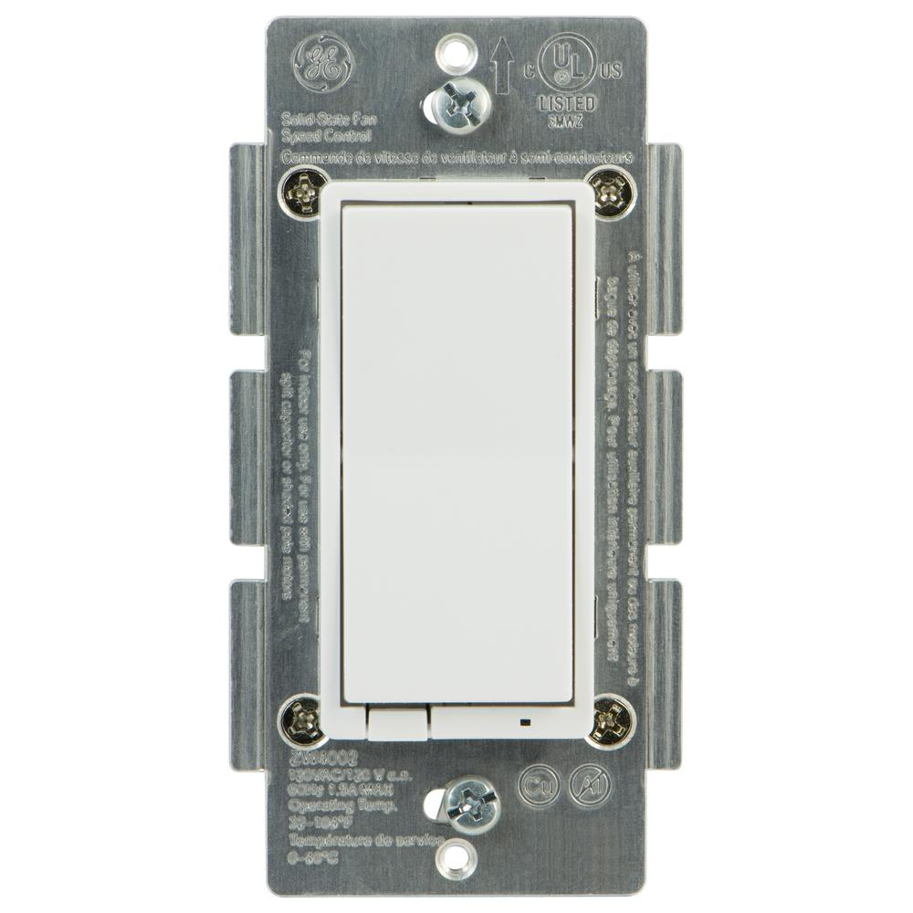 Ge z wave in wall smart fan control 12730 the home depot ge z wave in wall smart fan control aloadofball Choice Image
