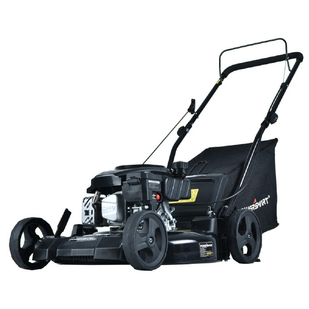 PowerSmart 21 in. 170 cc Gas 3-In-1 Walk Behind Lawn Mower