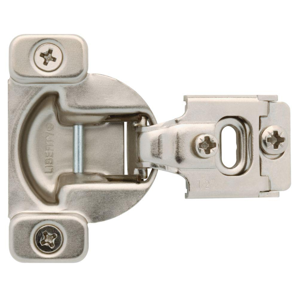35 mm 105-Degree 1/2 in. Overlay Cabinet Hinge (1-Pair)