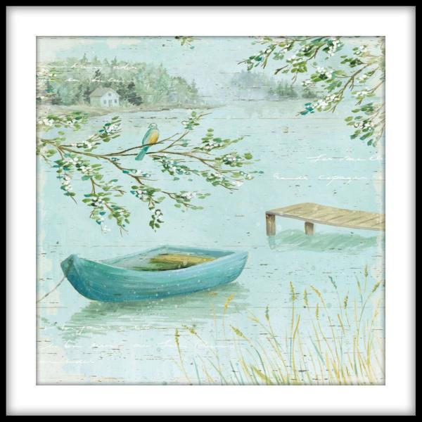 PTM Images 13.75 in. x 13.75 in. ''A la Plage I''