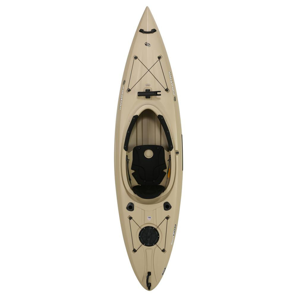 Lifetime Emotion Revel Angler 123 in. Tan Sit Inside Kayak