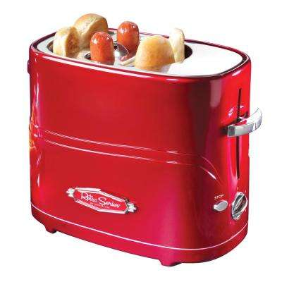 2-Slice Red Hot Dog Toaster