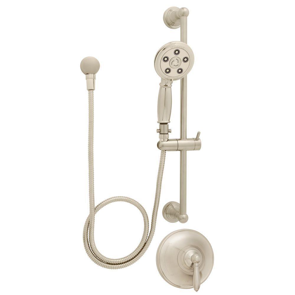 Speakman Alexandria ADA Handheld Shower Combinations in Brushed Nickel