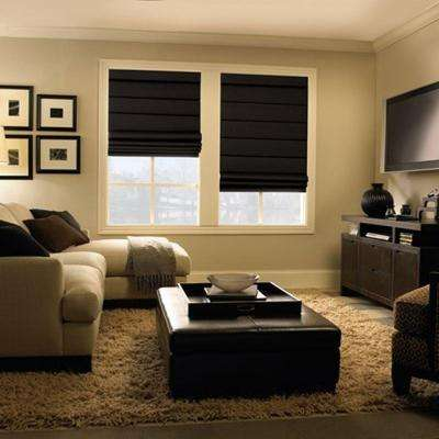 Room Darkening Custom Lined Shades Window Treatments The