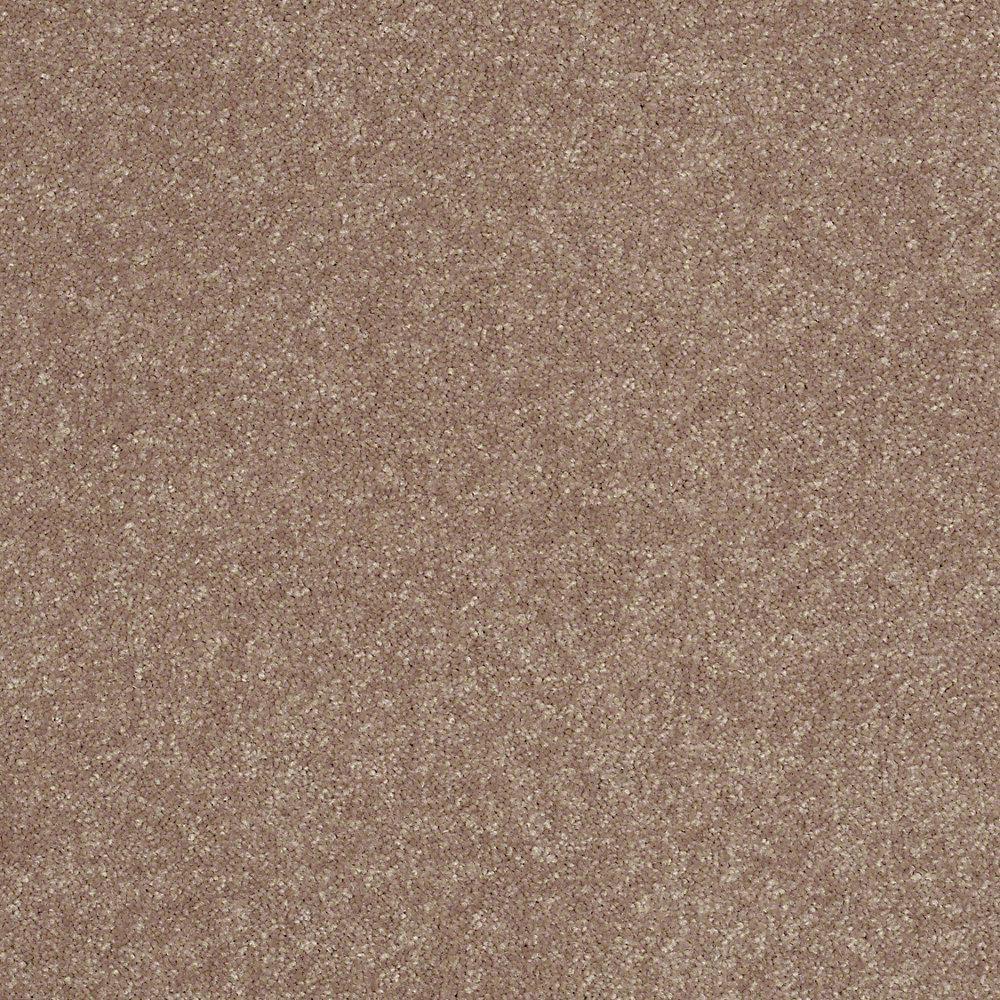 Home Decorators Collection Full Bloom II - Color Log Cabin Texture 15 ft. Carpet