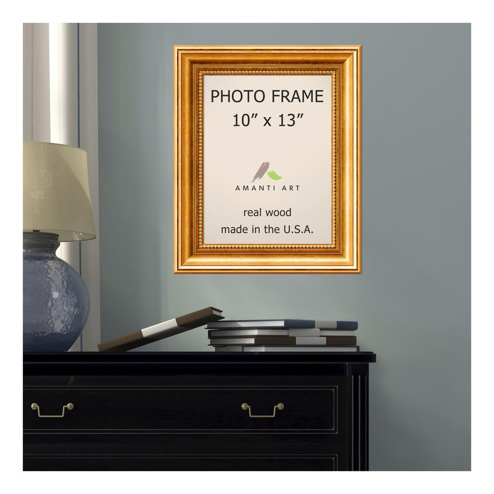 Amanti Art Townhouse 10 In X 13 In Gold Picture Frame Dsw1385301