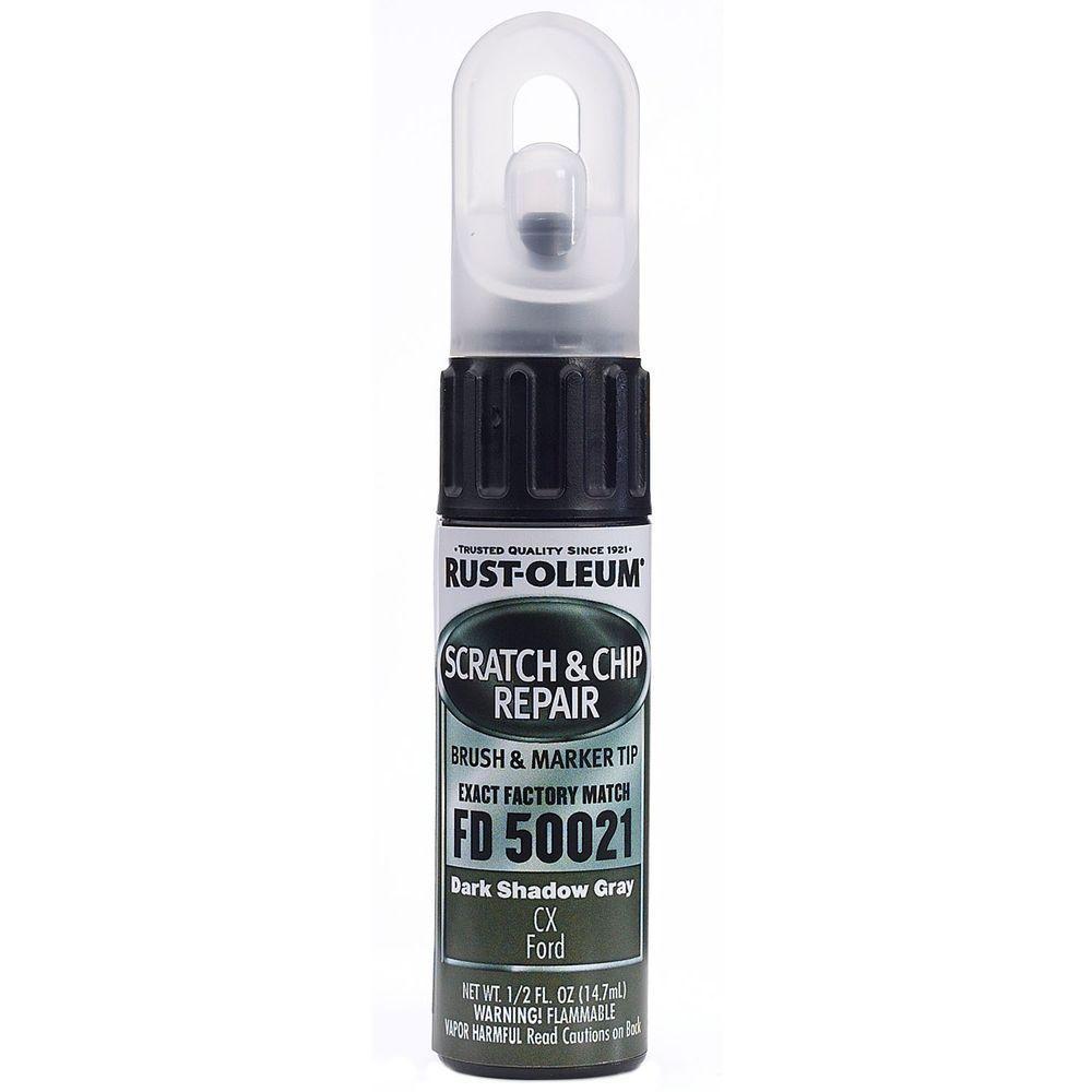 Rust-Oleum Automotive 0.5 oz. Dark Shadow Gray Scratch and Chip Repair Marker... by Rust-Oleum Automotive