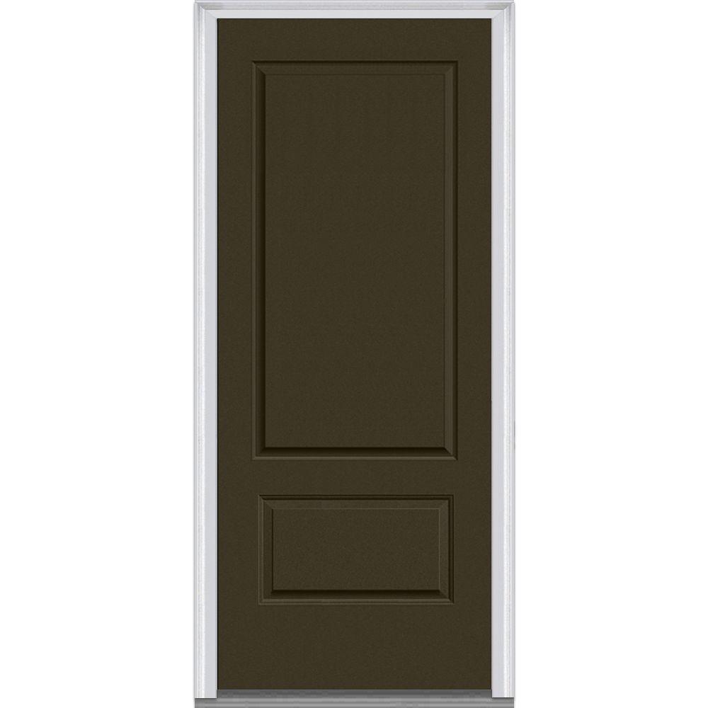 Genial MMI Door 36 In. X 80 In. Right Hand Inswing 2 Panel