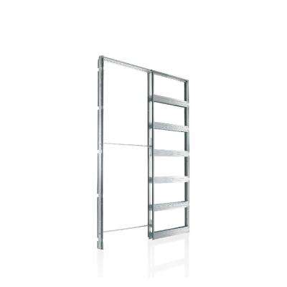 Eclisse European 28 in. x 96 in. Steel Single Pocket Door Frame System