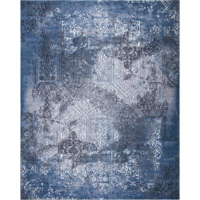 Aurora Blue 5 ft. x 7 ft. Indoor/Outdoor Area Rug