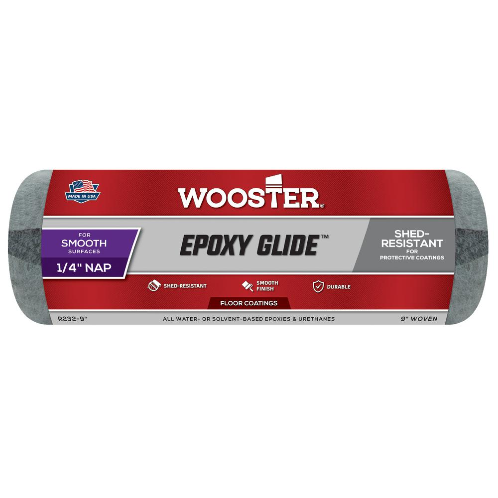 Wooster 9 in. x 1/4 in. Epoxy Glide Roller Cover