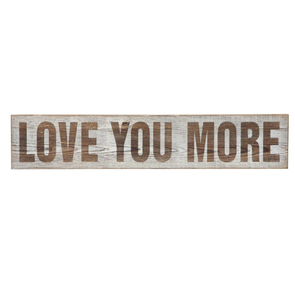 Home decorators collection 5 in h x 25 5 in w love you Home depot decor
