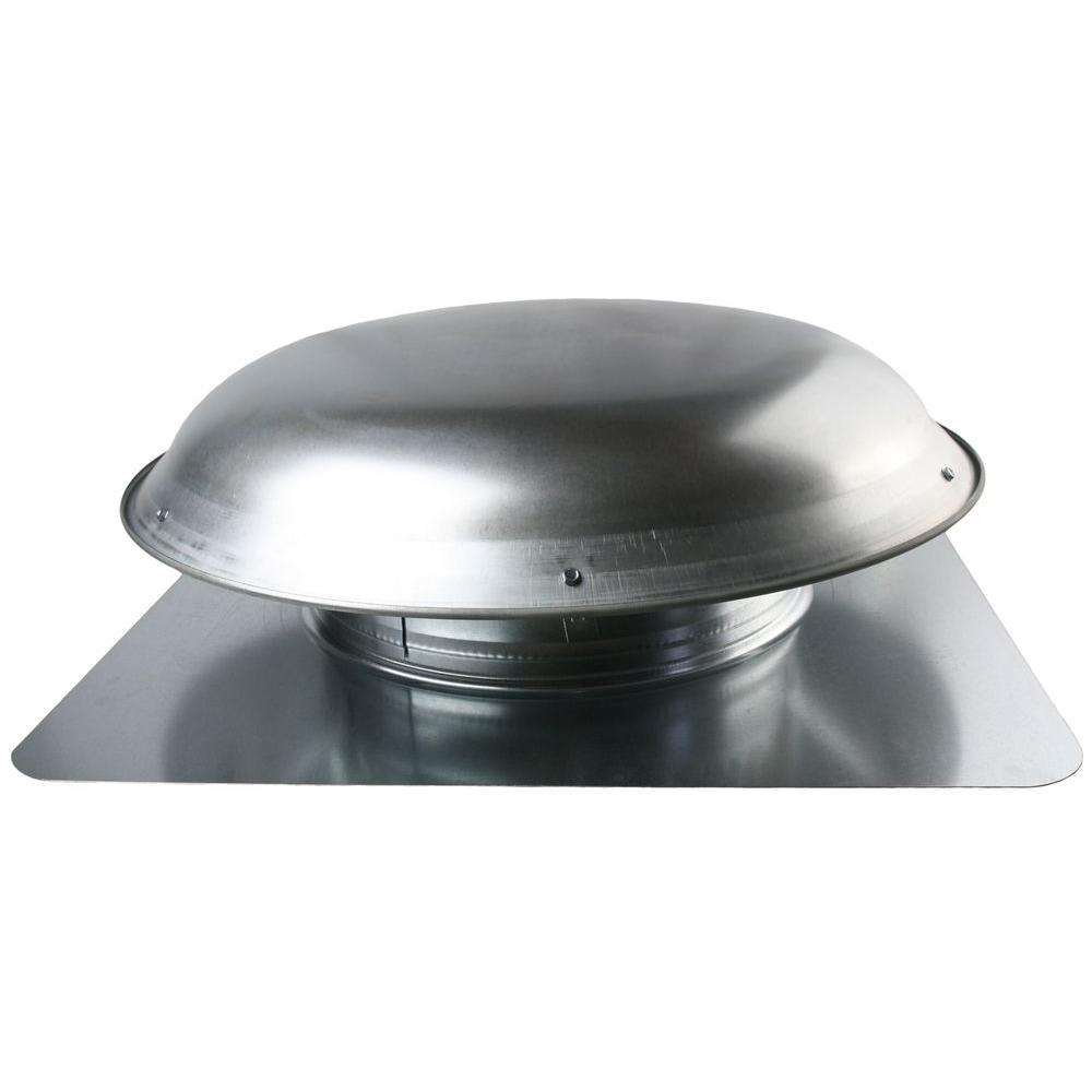 Ventamatic 1080 CFM Mill Galvanized Steel Power Attic Roof Ventilator