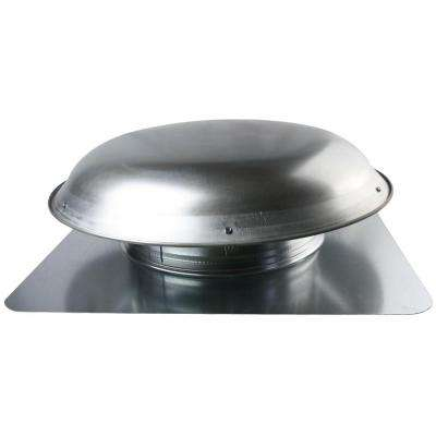 1080 CFM Mill Galvanized Steel Power Attic Roof Ventilator