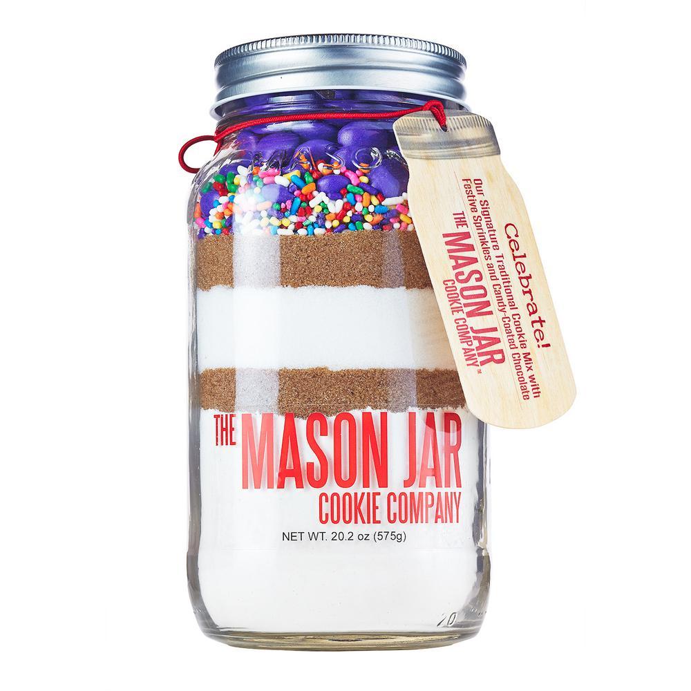 Celebrate Cookie Mix in a Mason Jar