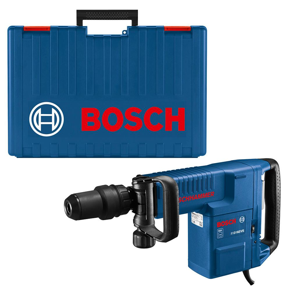 Bosch 14 Amp 1-9/16 in. Corded Variable Speed SDS-Max Concrete Demolition Hammer with Carrying Case