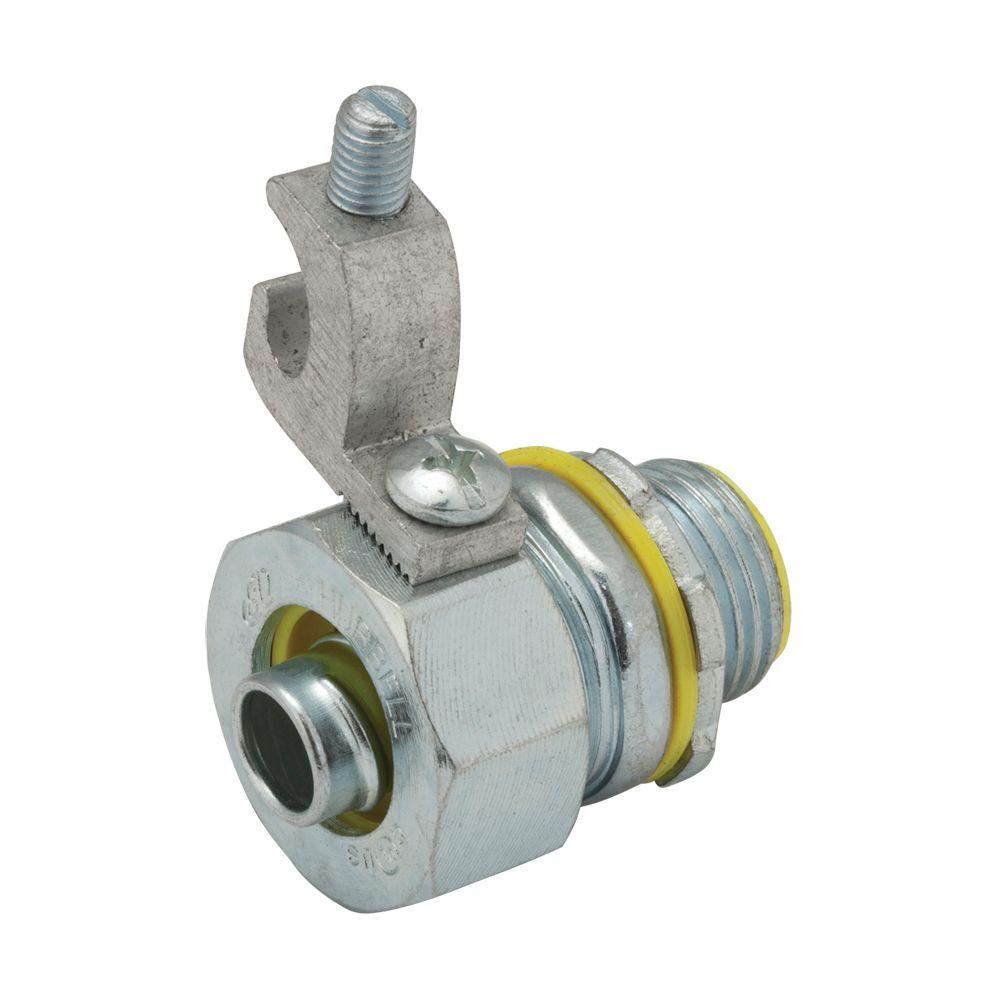 RACO Liquidtight 2-1/2 in. Insulated Grounding Connector