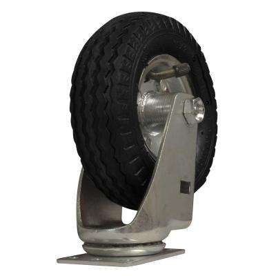 6 in. Air-Ride Pneumatic Rubber Swivel Caster
