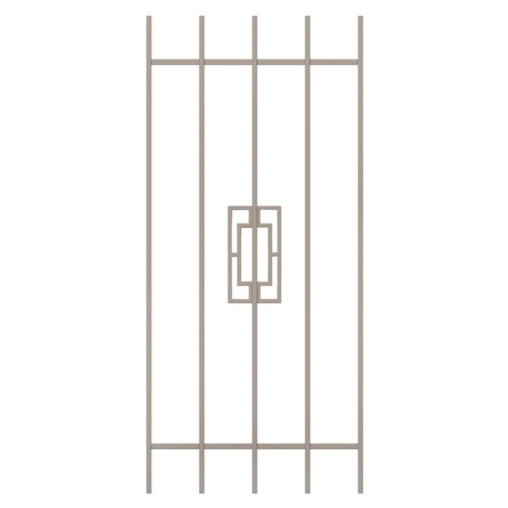 Unique Home Designs Modern Trifecta 24 in. x 54 in. Tan 5-Bar Window Guard-DISCONTINUED