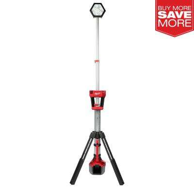 M18 18-Volt Lithium-Ion Cordless Rocket Dual Power Tower Light (Tool-Only)