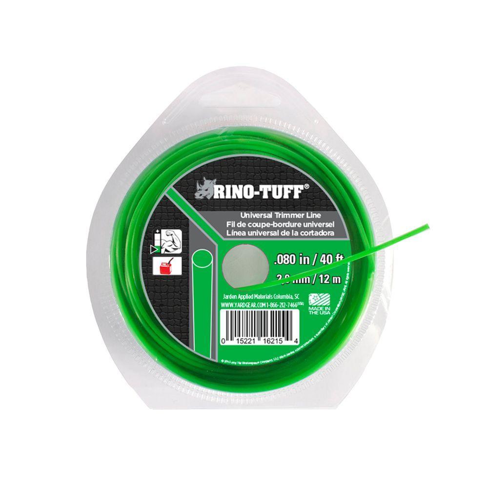Rino-Tuff Universal 0.080 in. x 40 ft. Trimmer Line