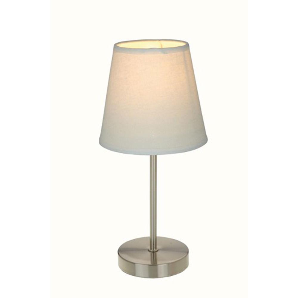 Sand Nickel Mini Basic Table Lamp