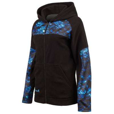 HUNTWORTH Women's Large Black / Phathom Mystique Hooded Pullover