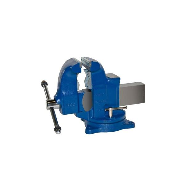 5 in. Heavy-Duty Combination Pipe and Bench Vise - Swivel Base