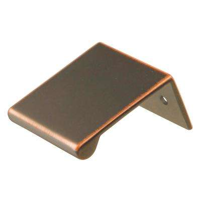 Rotterdam Collection 1 in. C/C Oil-Rubbed Bronze Highlighted Cabinet Pull