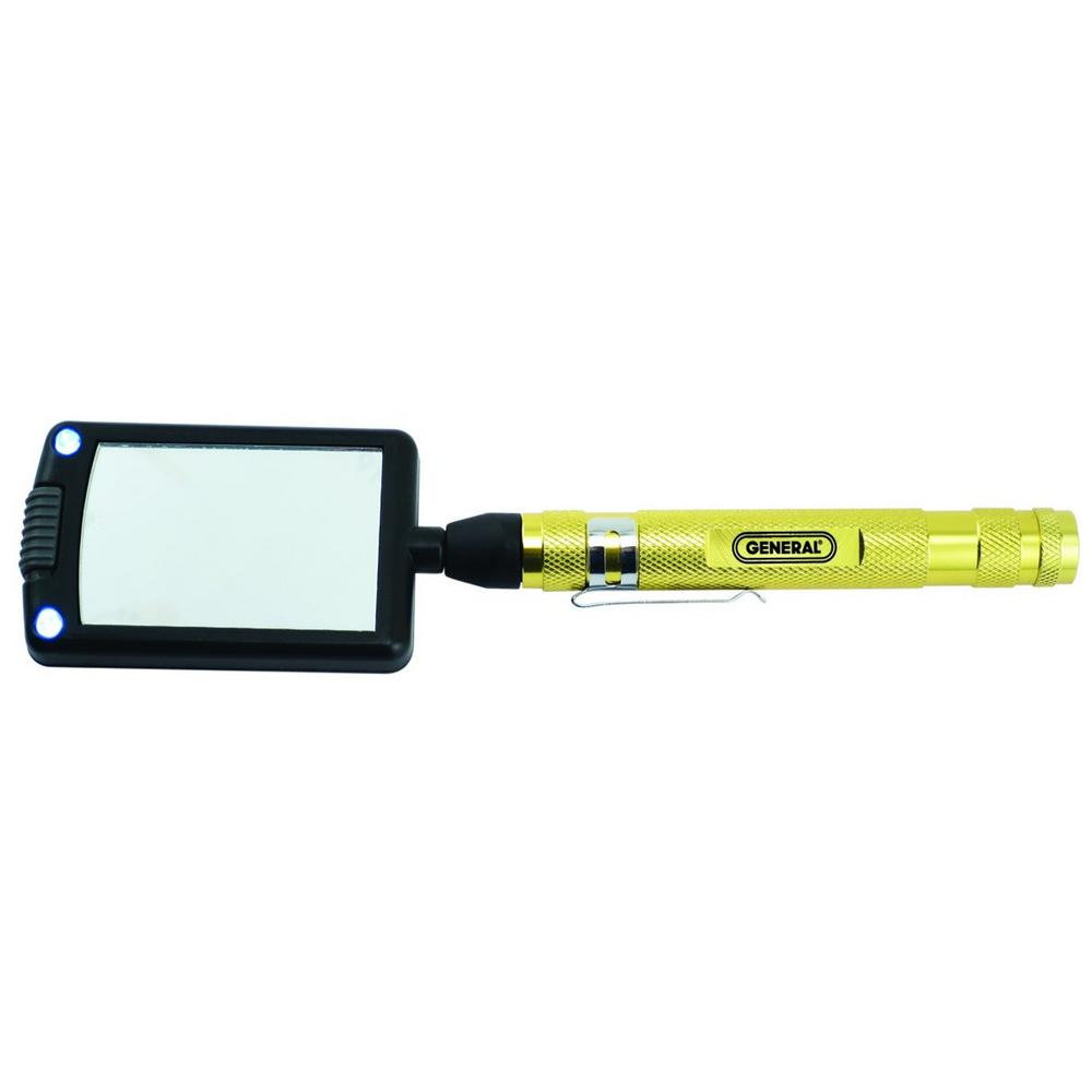 General Tools Led Lighted 24 In Telescoping Rectangular