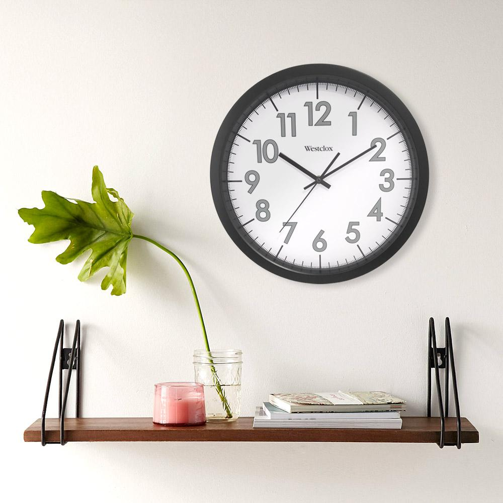 Beau Round Office Wall Clock