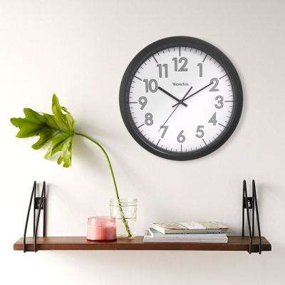 14 in. Round Office Wall Clock
