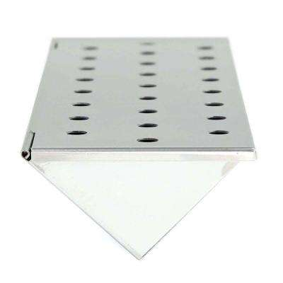 Stainless Steel Gas Grill V-Smoker Box (Long)