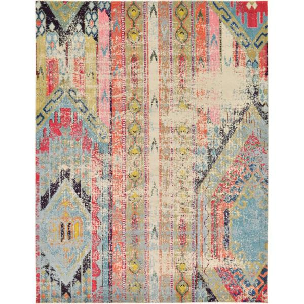 Sedona Yosemite Multi 9 ft. x 12 ft. Area Rug