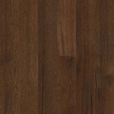 Take Home Sample - Hydropel Hickory Medium Brown Engineered Hardwood Flooring - 5 in. x 7 in.