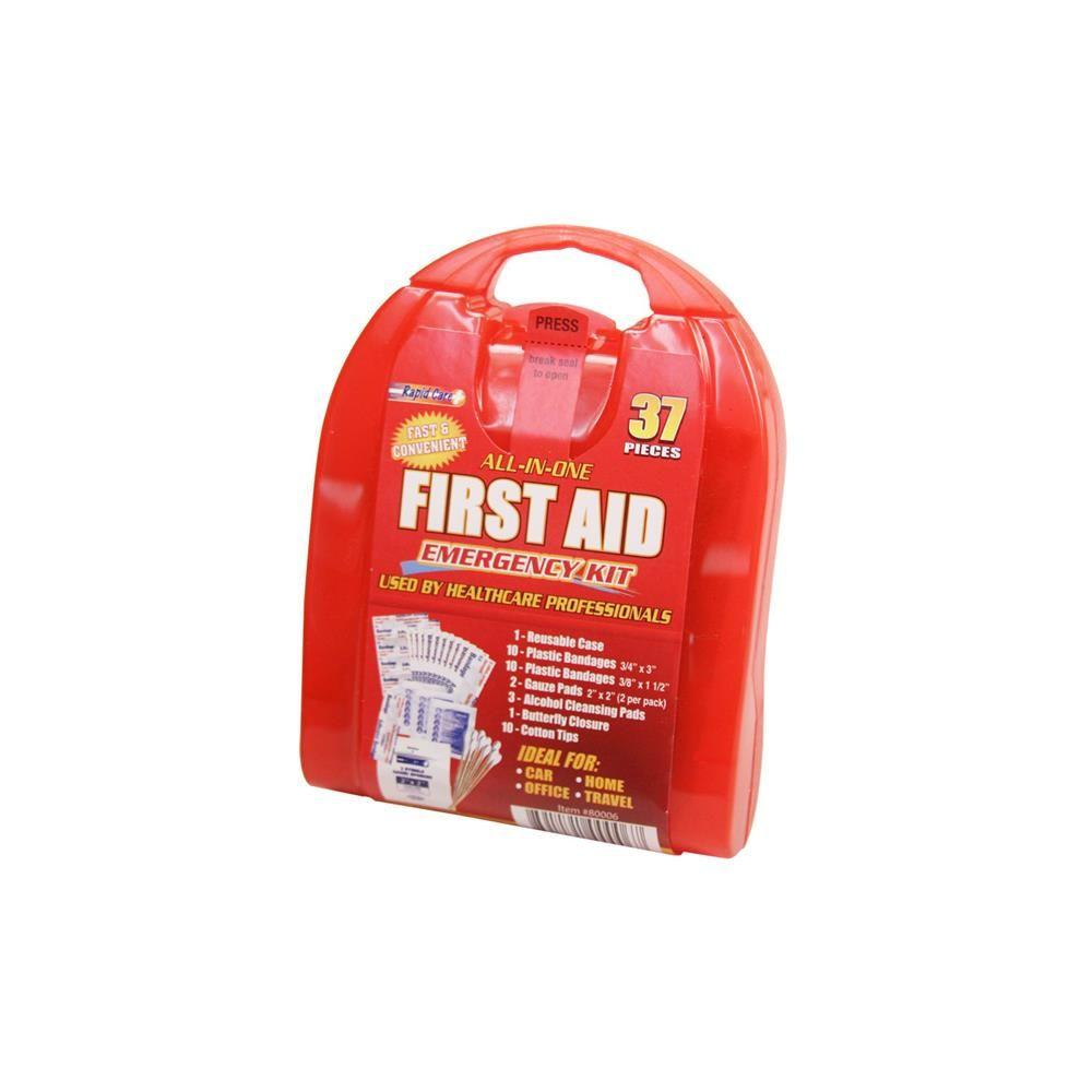 Rapid Care 37-Piece Travel First Aid Kit