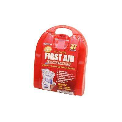 37-Piece Travel First Aid Kit