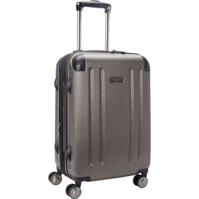 O'Hare Collection Lightweight Hardside ABS 8-Wheel Expandable Upright 20 in. Carry-On Luggage with Corner Guards