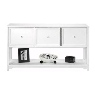 Oxford White 56 in. Lateral File Cabinet