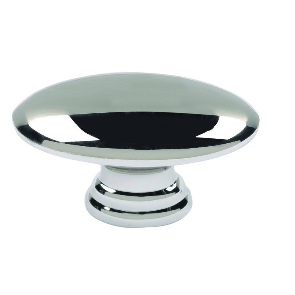 Atlas Homewares Successi Collection 1-1/2 in. Polished Nickel Egg ...