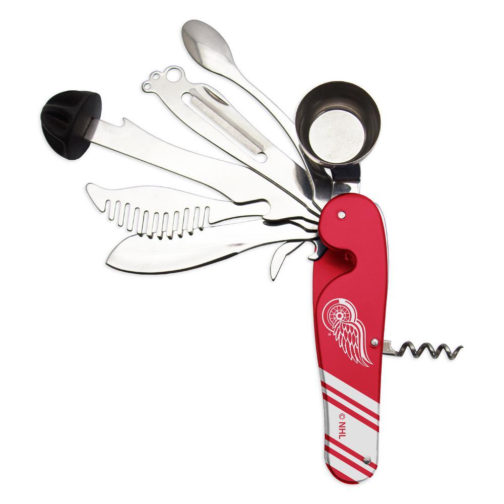 NHL Detroit Red Wings Bartender Multi Tool