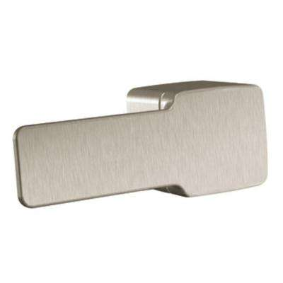 90 Degree Decorative Tank Lever in Brushed Nickel