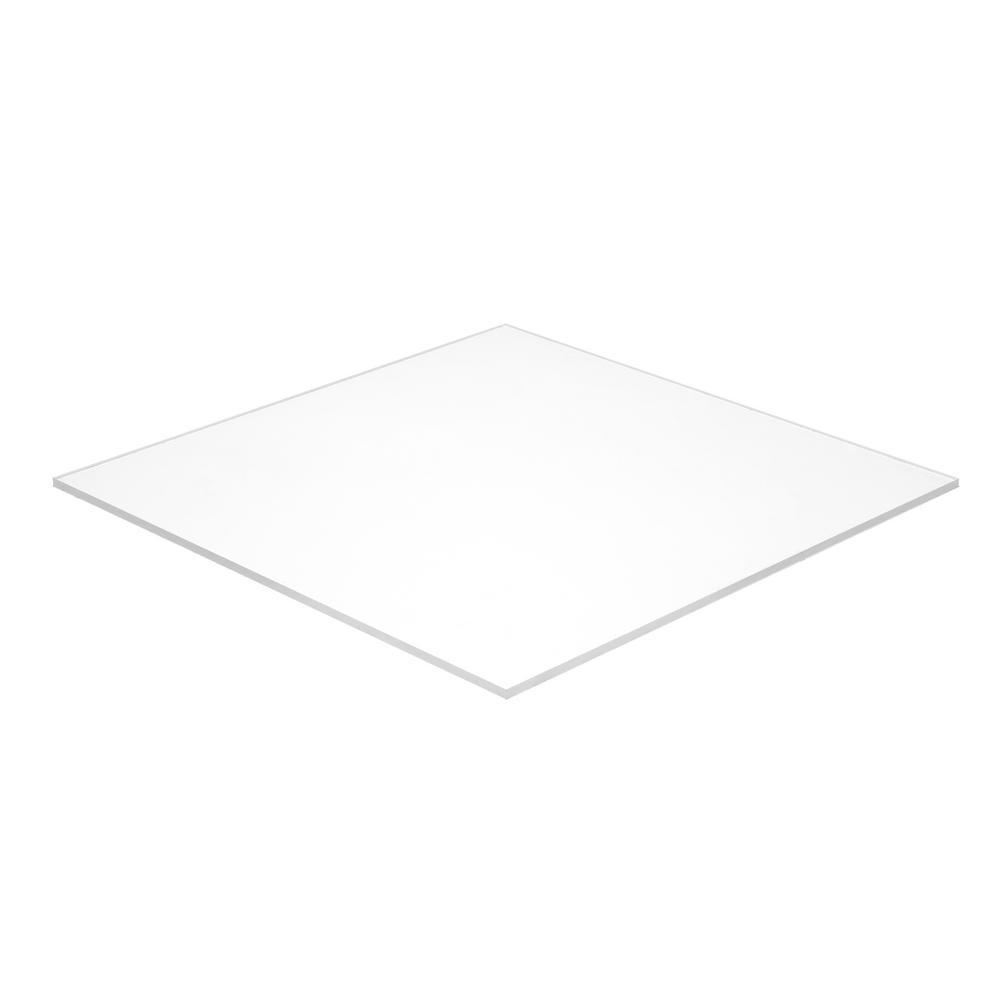 Falken Design CL1-4//1224 Acrylic Clear Sheet 1//4 Thick 12 x 24