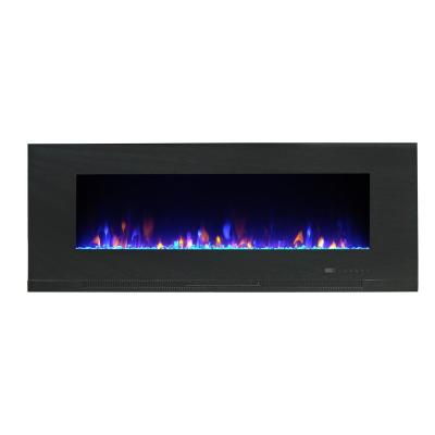 Mirage 50 in. Wall Mount with Multi-Color Flames